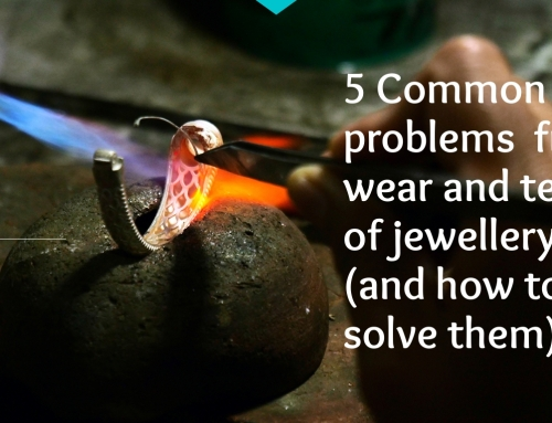 5 common jewellery wear and tear problems and how to solve them